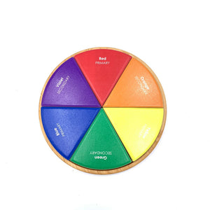 Color Wheel - 6 Piece Puzzle