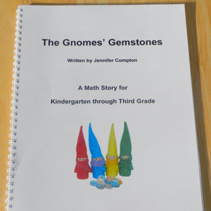 """The Gnomes' Gemstones"" Math Story for K-3rd"