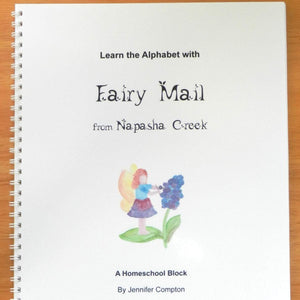 """Learn the Alphabet with Fairy Mail"" for K-3rd"