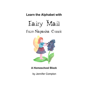 "PDF: ""Learn the Alphabet with Fairy Mail"" for K-3rd"
