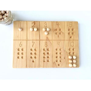 1-10 Counting Board