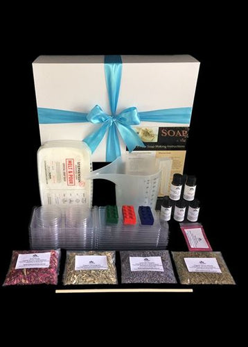 Make your own soap - Gift Boxed Soap Making Kit