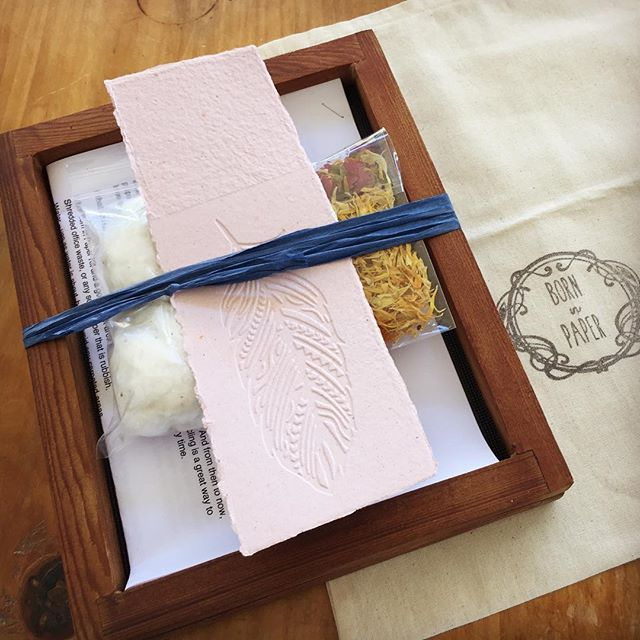 Handcrafted Paper Making Kits