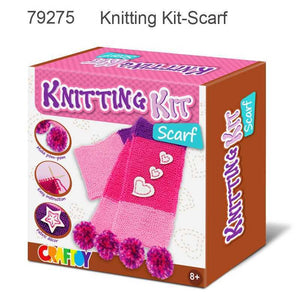Learn to knit a scarf