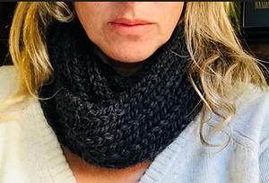 Alpaca Short Loop Cowl