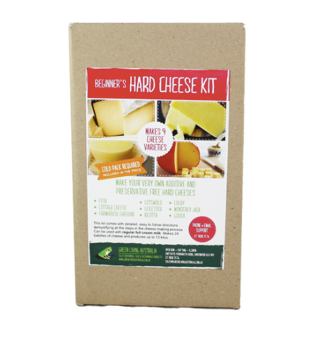 Make your own cheese - Hard Cheese Kit