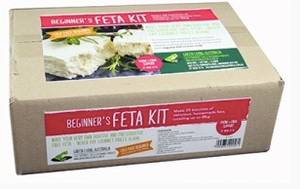 Make your own feta - Green Living Feta Kit