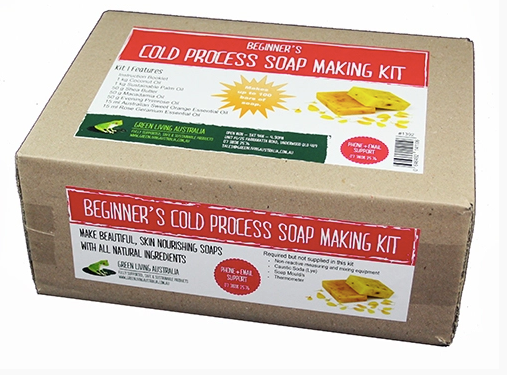 Make your own soap - Green Living Beginner's Cold Process Soap Making Kit 1 (Basic)