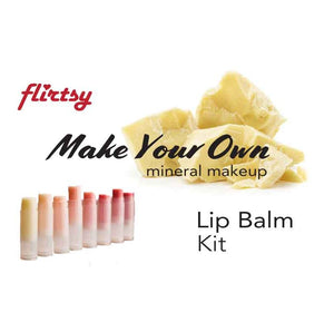 Make your own lipbalm - Flirtsy lipbalm kit