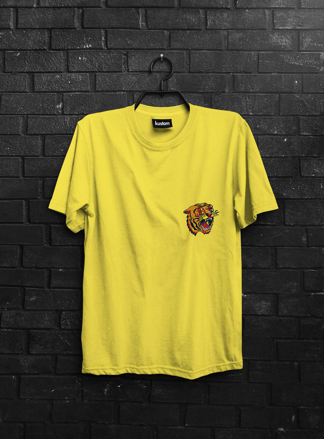 4 Eyes Tiger Yellow Tee