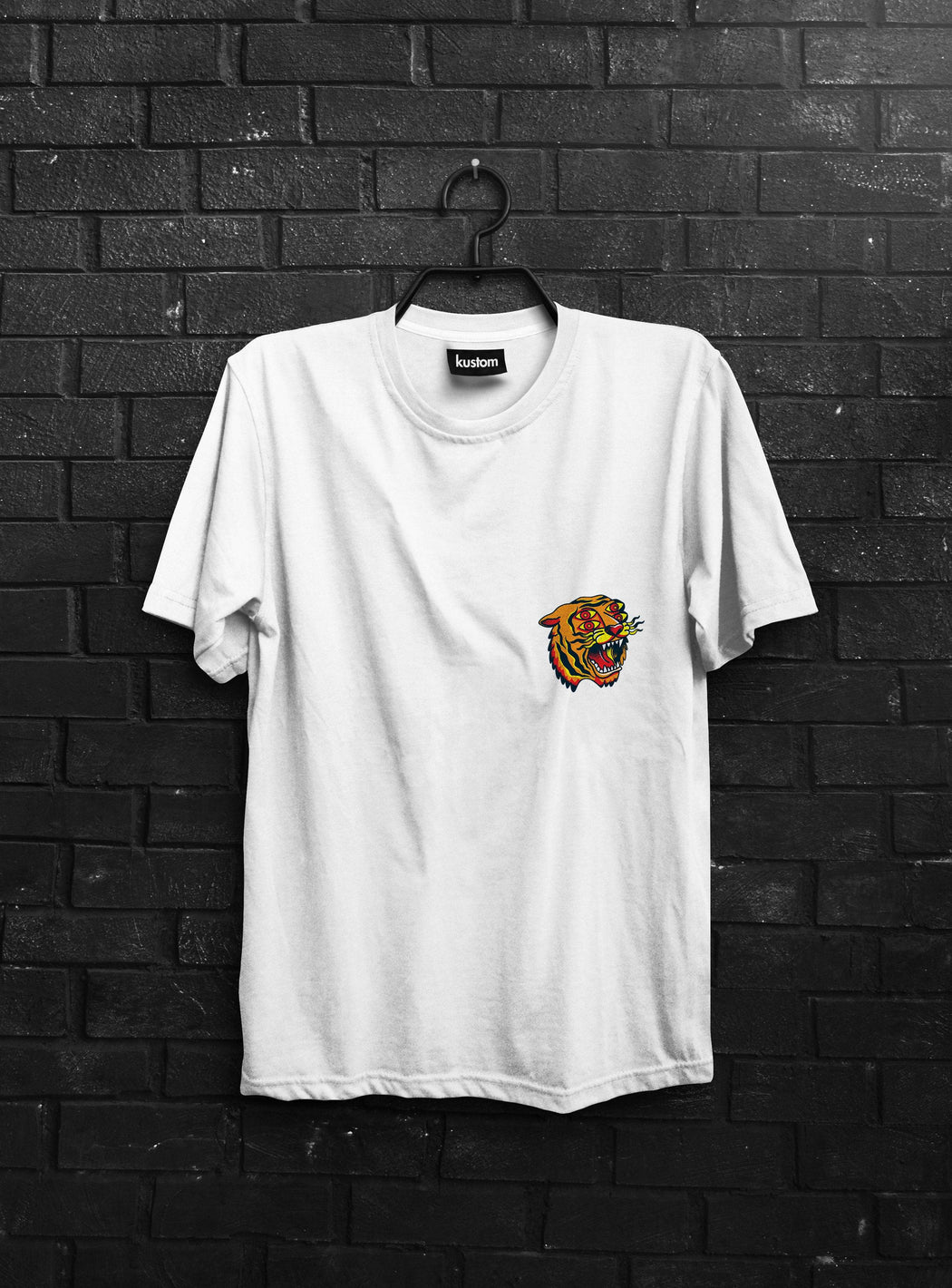 4 Eyes Tiger Tee - Kustom: Tees Factory