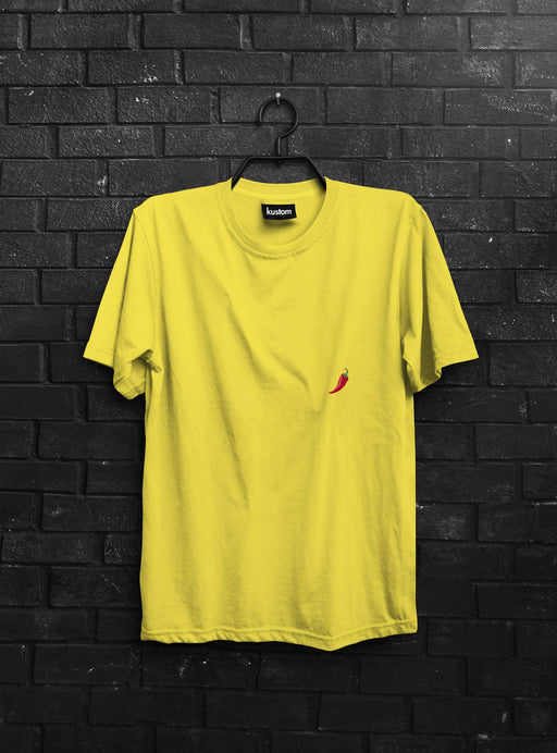 Chili Yellow Tee - Kustom: Tees Factory