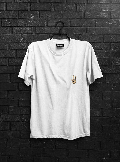 Hand Peace Tee - Kustom Apparel