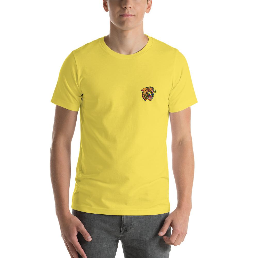 4 Eyes Tiger Yellow Tee - Kustom: Tees Factory