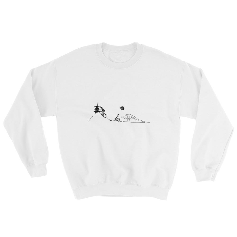 Mount Fuji Crew neck Sweatshirt