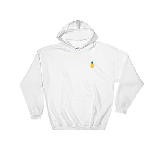 Pineapple Hoodie Embroidered