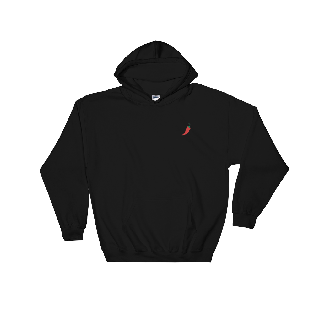 Chili Hoodie Embroidered - Kustom: Tees Factory