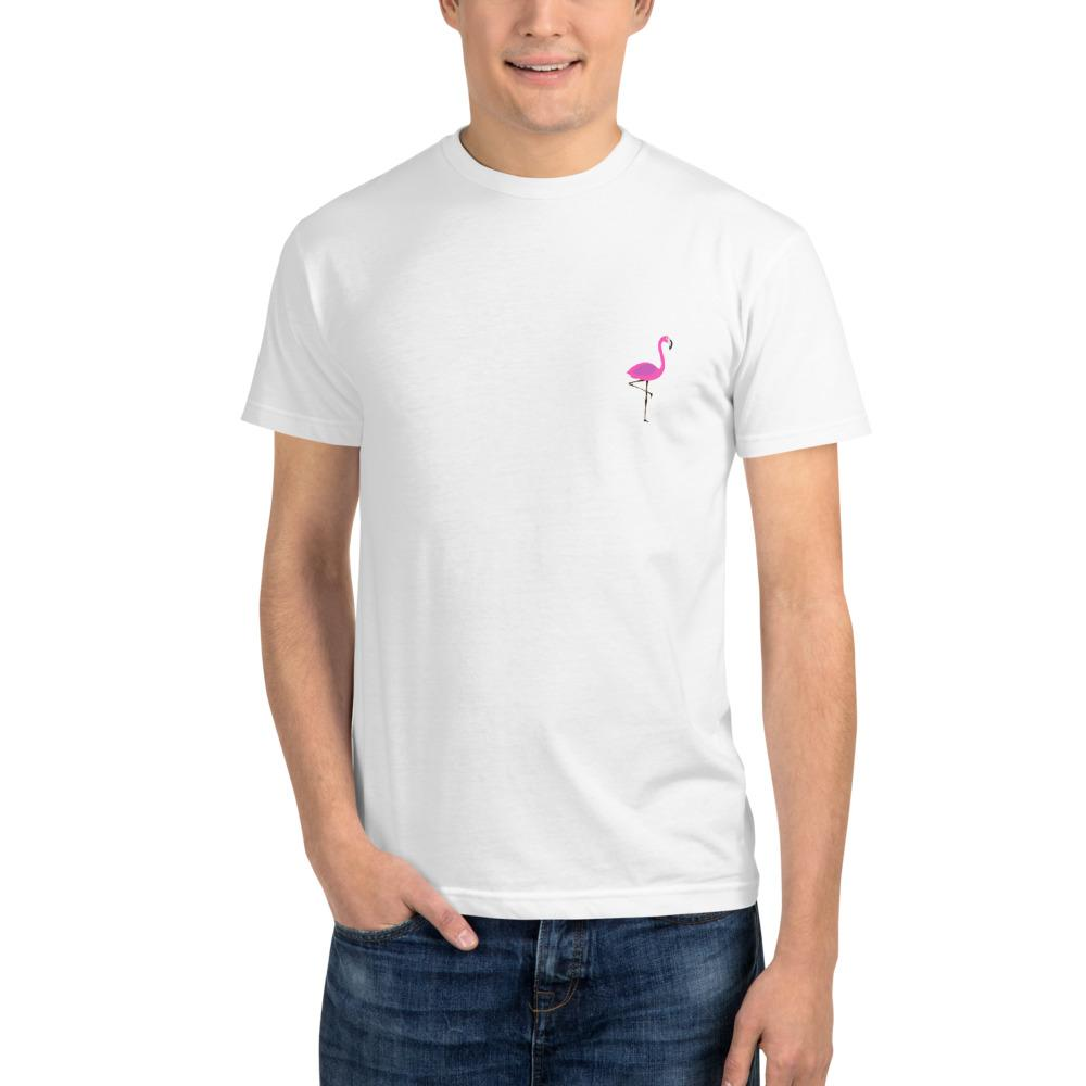 Pink Flamingo Eco Tee - Kustom: Tees Factory