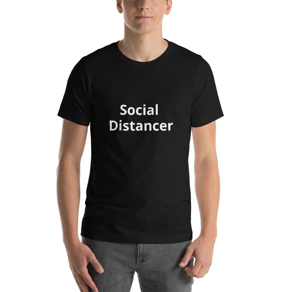Social Distancer T-Shirt - Kustom: Tees Factory
