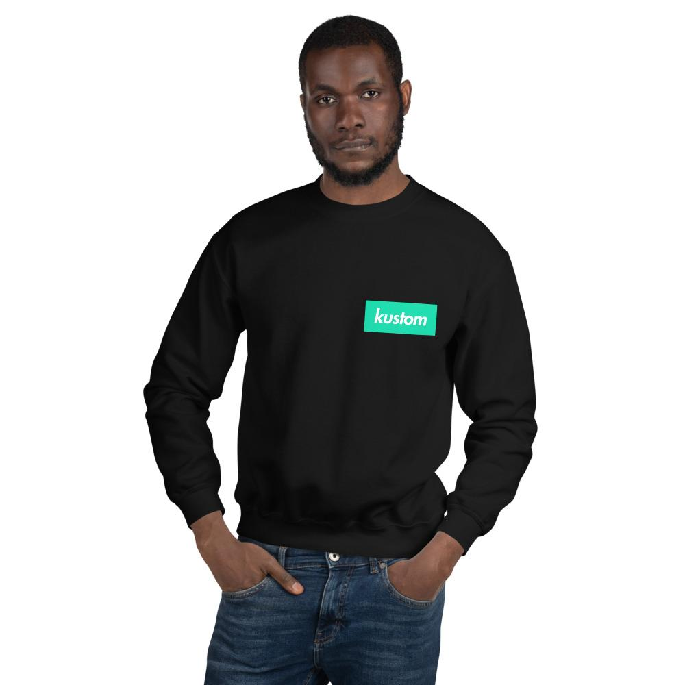 Kustom Green Sweatshirt - Kustom: Tees Factory