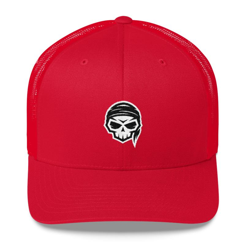 Skull Pirate Hat - Kustom: Tees Factory