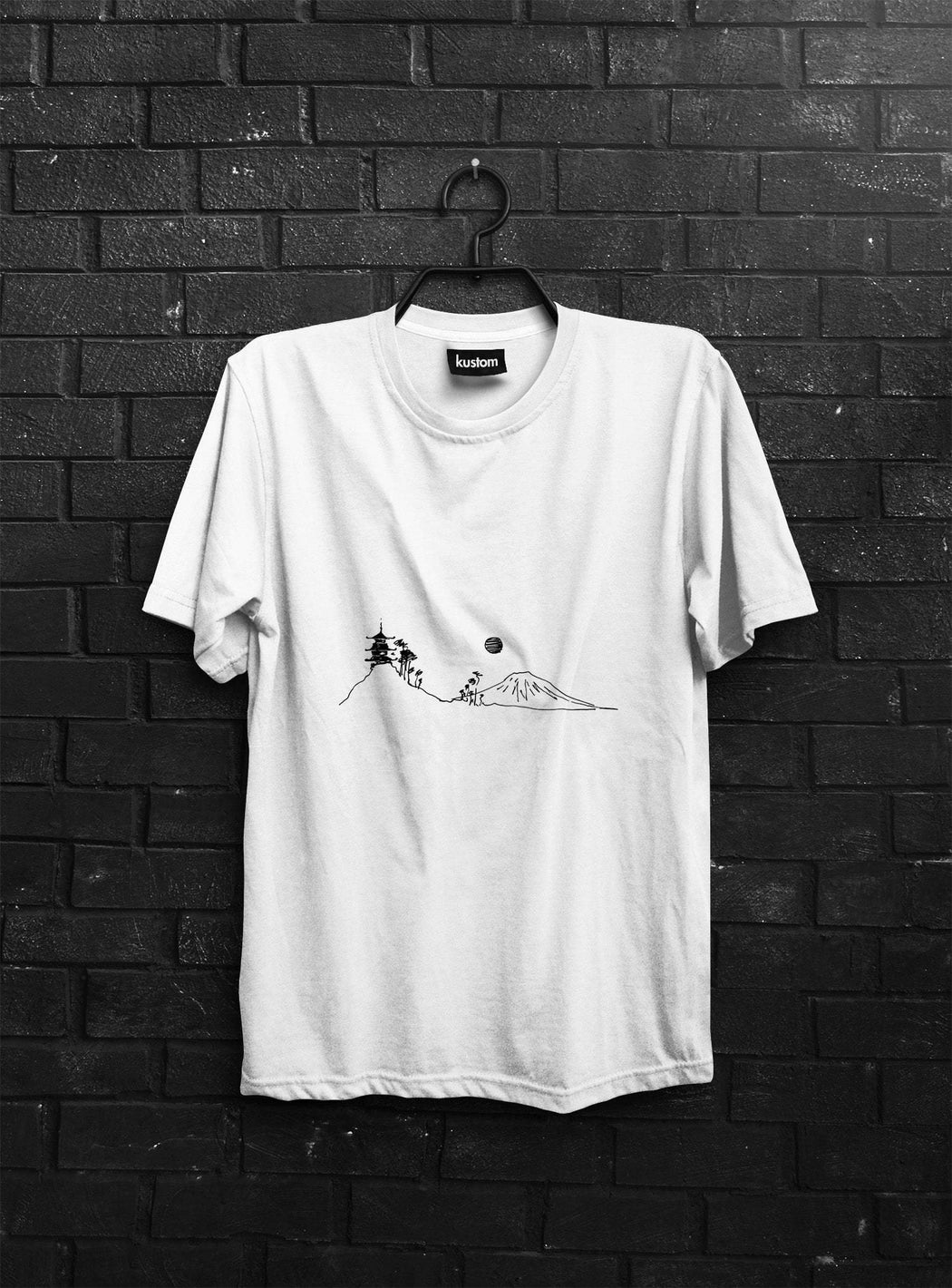 Mount Fuji Eco Tee - Kustom: Tees Factory