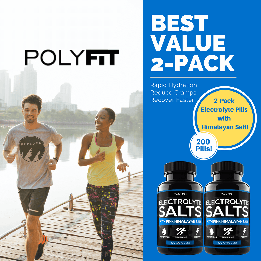 (2 Pack | 200 Salt Pills) Electrolyte Salt Tablets