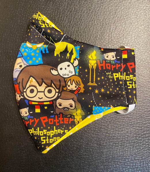 SMALL FACE MASK HARRY POTTER DESIGN