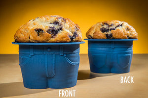 Cute Jeans Muffin Mold