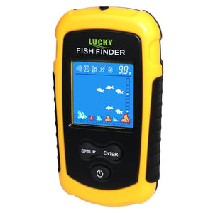 Portable Sonar Fish Finder - -