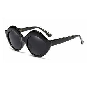 Enid Large Frame Cats Eye Retro Sunglasses 8 colors