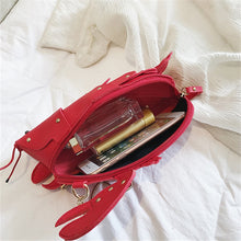 Rock Lobster Novelty Lobster Purse Crossbody Strap 3 Colors
