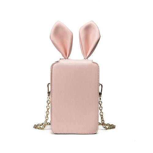 Peeps Womens Mini Cross Body Rabbit Bag 4 Colors
