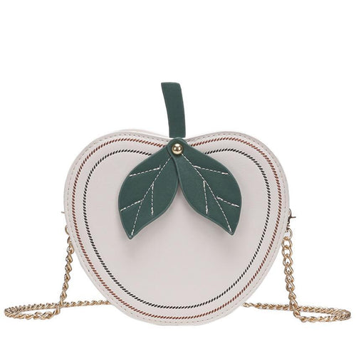 Alice Adorable Apple Shoulder Bag in 4 Colors