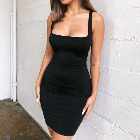 Straight to It Dress