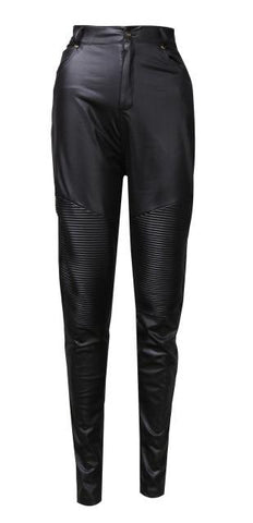 Coated With Love Leather Pants