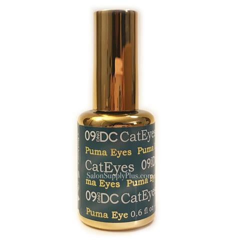 DC Gel Polish Cat Eyes Collection, 009, Puma Eyes, 0.6oz