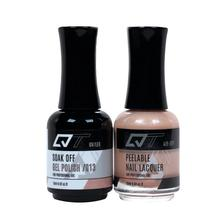 QT Gel Polish + Nail Lacquer, 013, 0.5oz