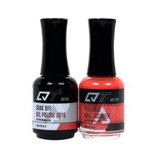 QT Gel Polish + Nail Lacquer, 016, 0.5oz