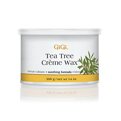 Gigi Tea Tree Creme Wax, 14oz, 0240