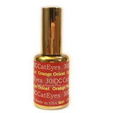 DC Gel Polish Cat Eyes Collection, 030, Orange Ocicat, 0.6oz