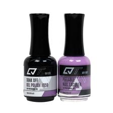 QT Gel Polish + Nail Lacquer, 059, 0.5oz
