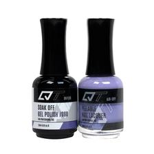 QT Gel Polish + Nail Lacquer, 060, 0.5oz