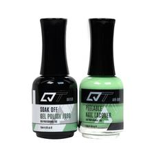 QT Gel Polish + Nail Lacquer, 080, 0.5oz