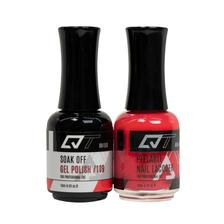 QT Gel Polish + Nail Lacquer, 109, 0.5oz
