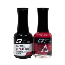 QT Gel Polish + Nail Lacquer, 115, 0.5oz