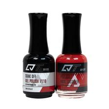 QT Gel Polish + Nail Lacquer, 116, 0.5oz