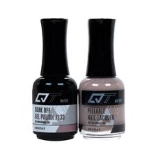QT Gel Polish + Nail Lacquer, 133, 0.5oz