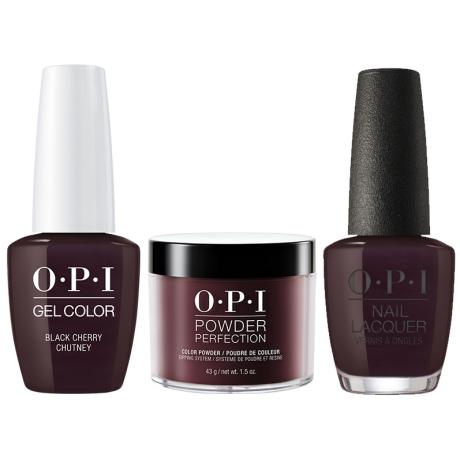 OPI 3in1, DGLI43, Black Cherry Chutney
