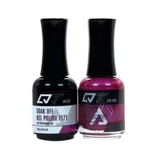 QT Gel Polish + Nail Lacquer, 171, 0.5oz